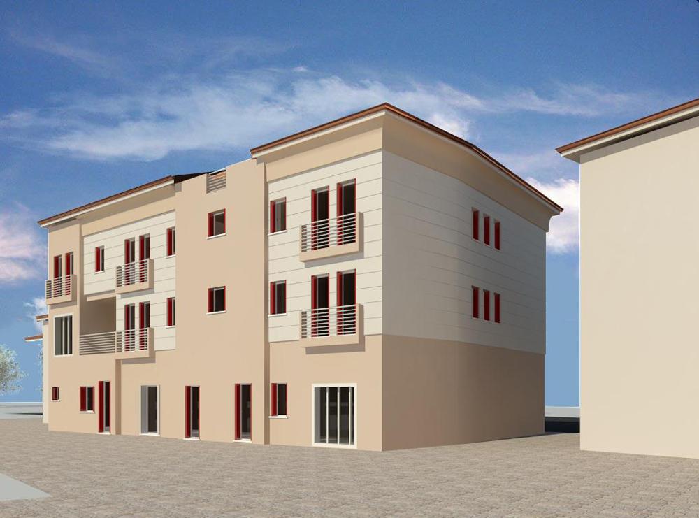 Vista 3D 2 retro balconi rossi